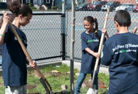 Dudley Street Neighborhood Charter School Planting